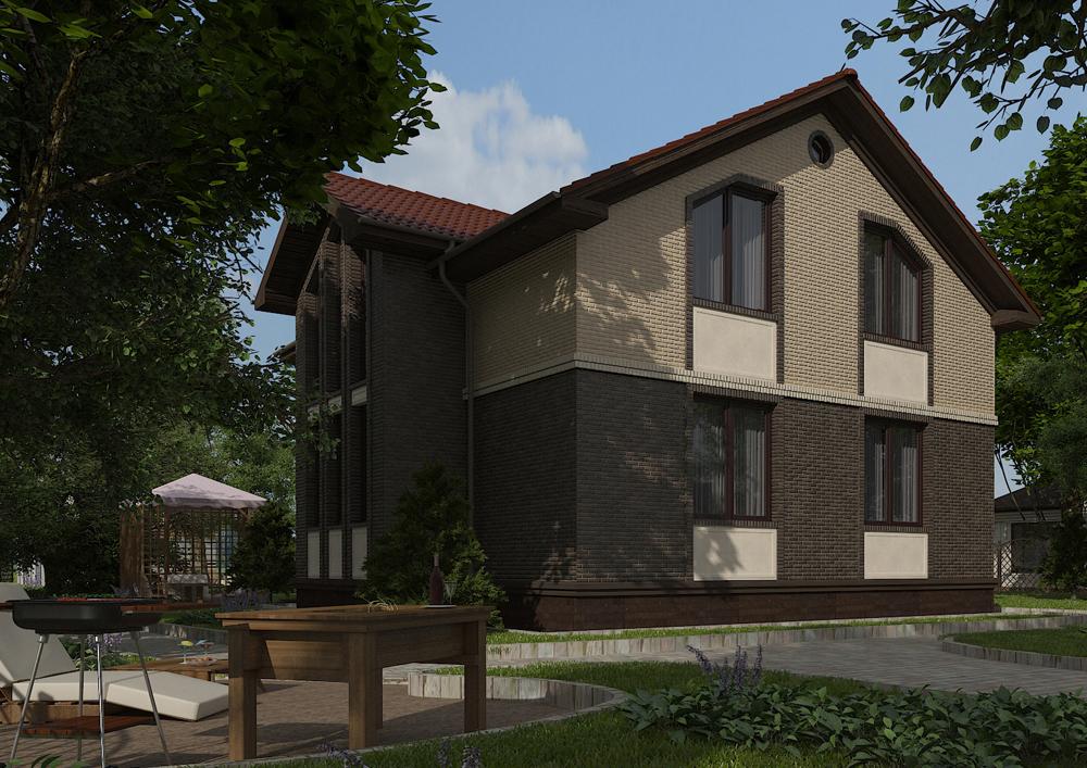 проект дома 20-38 общ. площадь 173,30 м2